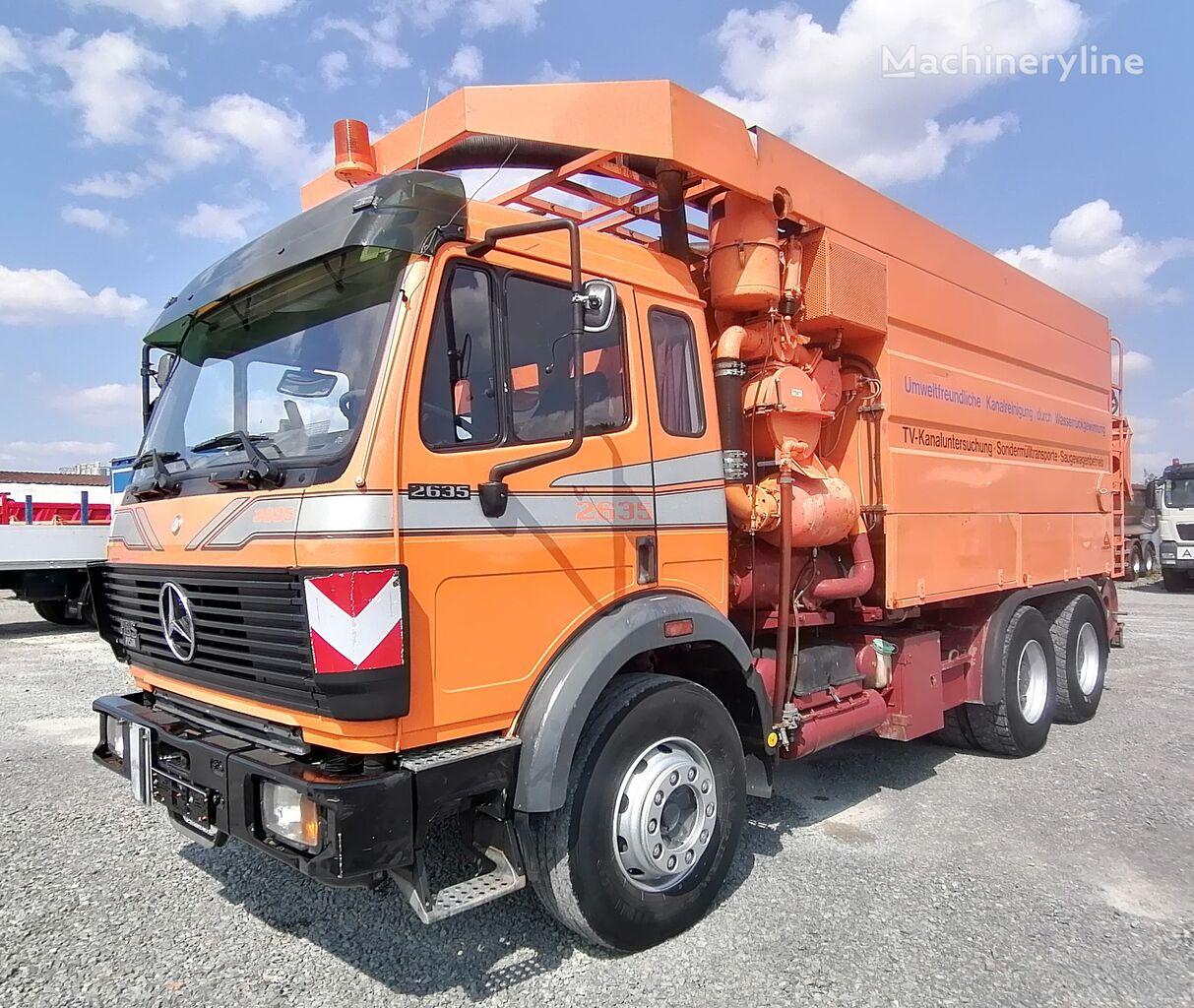 MERCEDES-BENZ 2635K 6x4 Saug-& Pumpwagen Assmann 11.000 l (6) Kanalreiniger
