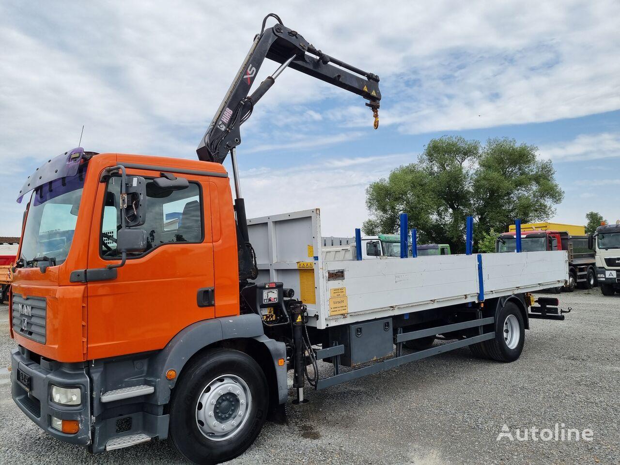 MAN TGM 18.240 Pritsche + Kran 4x2 Euro 4 Pritsche LKW
