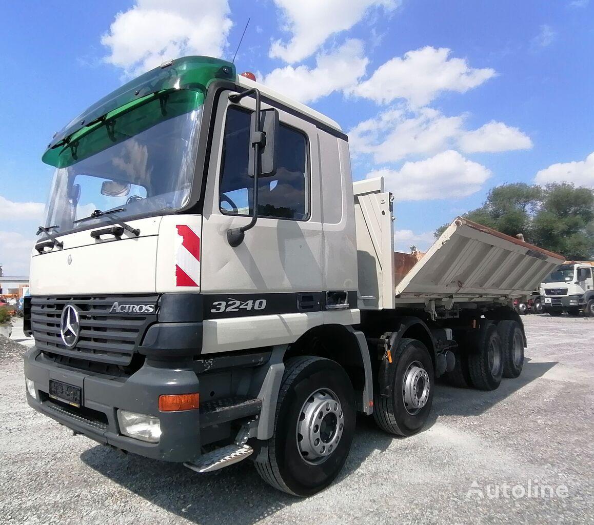 камион кипер MERCEDES-BENZ Actros 3240 3-Seiten-Kipper Bordmatik 8x4