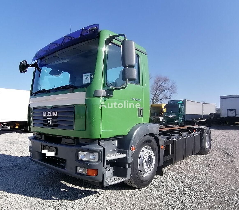 MAN TGM 18.280 4x2LL Wechselfahrgestell ATL-Wechselystem (17) şasi kamyon